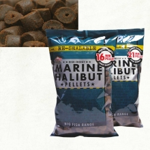 Dynamite Baits Marine Halibut Pellets 21mm Pre-Drilled